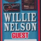 Willie Nelson Nacogdoches Tour Backstage Pass