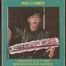 1982 Elton John at Madison Square Gardens Backstage Pass - Radio WPLJ