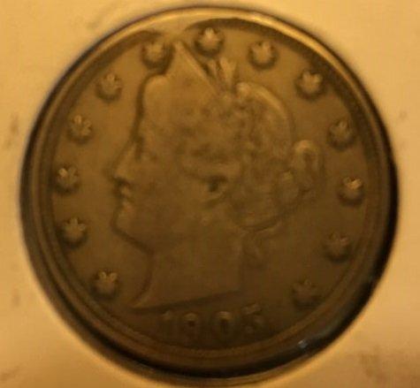 1905 Liberty Head Nickel