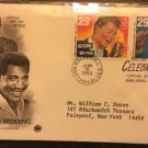 First Day Cover 6/16/93 Otis Redding and Ritchie Valens