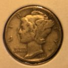 1935 Mercury Dime (Wnged Liberty)