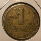 1945 Brazil 1 cruzeiro