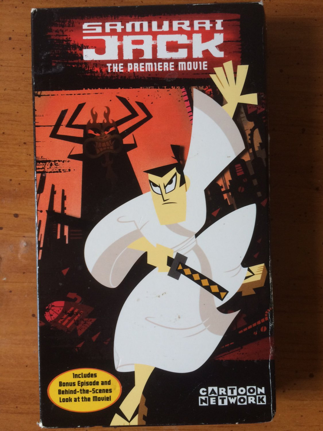 Samurai Jack: The Premiere Movie - VHS - Used
