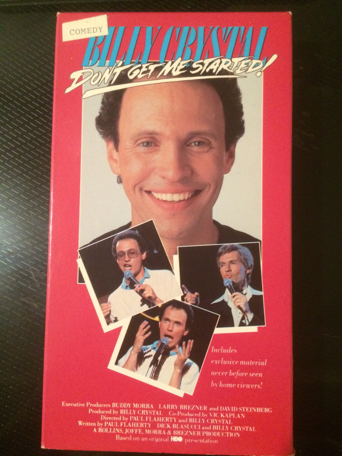 Billy Crystal: Don't Get Me Started - Used - VHS - NOT ON DVD