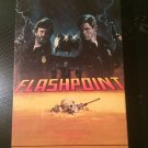 Flashpoint - Used - VHS - NOT ON DVD