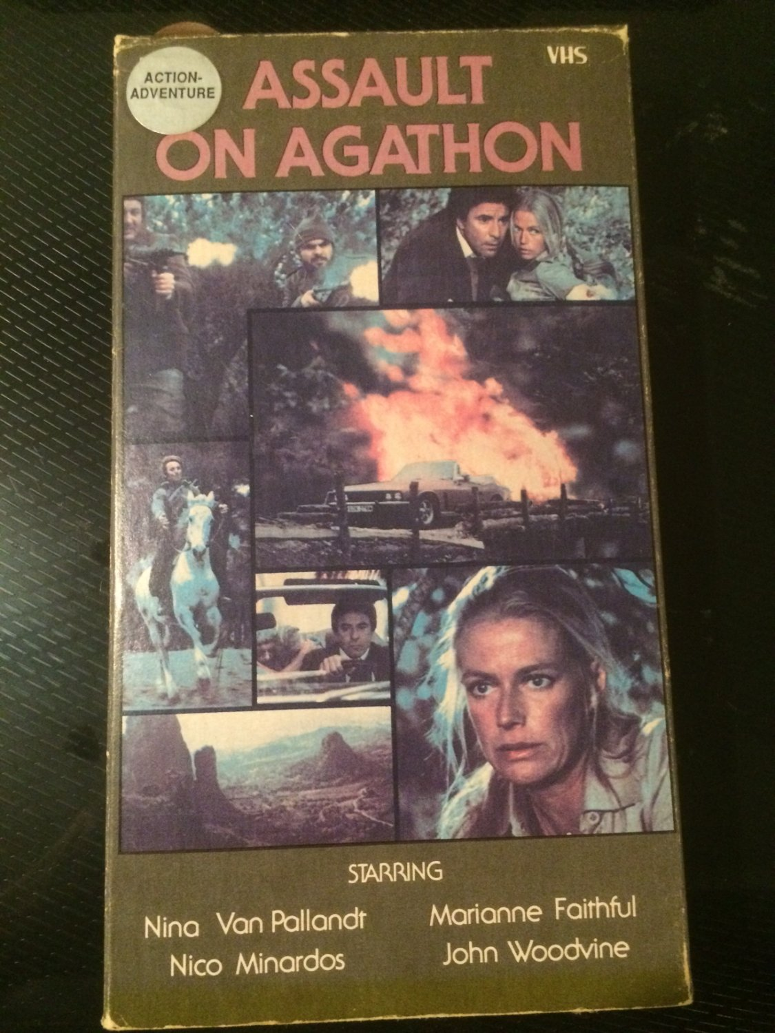 Assault on Agathon - Used - VHS - NOT ON DVD