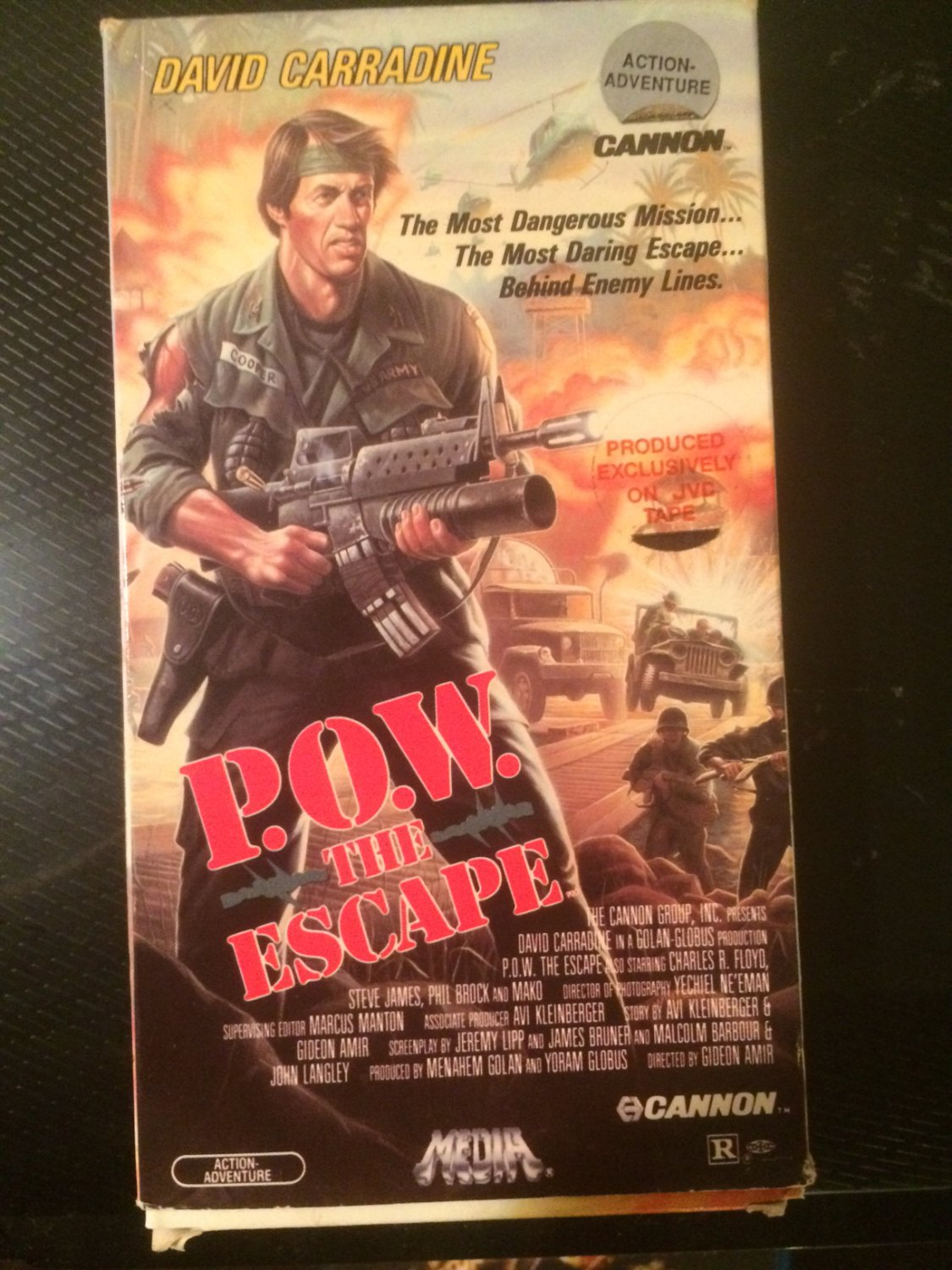P.O.W. The Escape - VHS - Used - NOT ON DVD