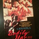 Grievous Bodily Harm - Used - VHS - NOT ON DVD