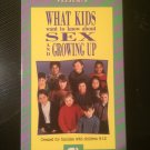 What Kids Want to Know About Sex and Growing Up - VHS - Used