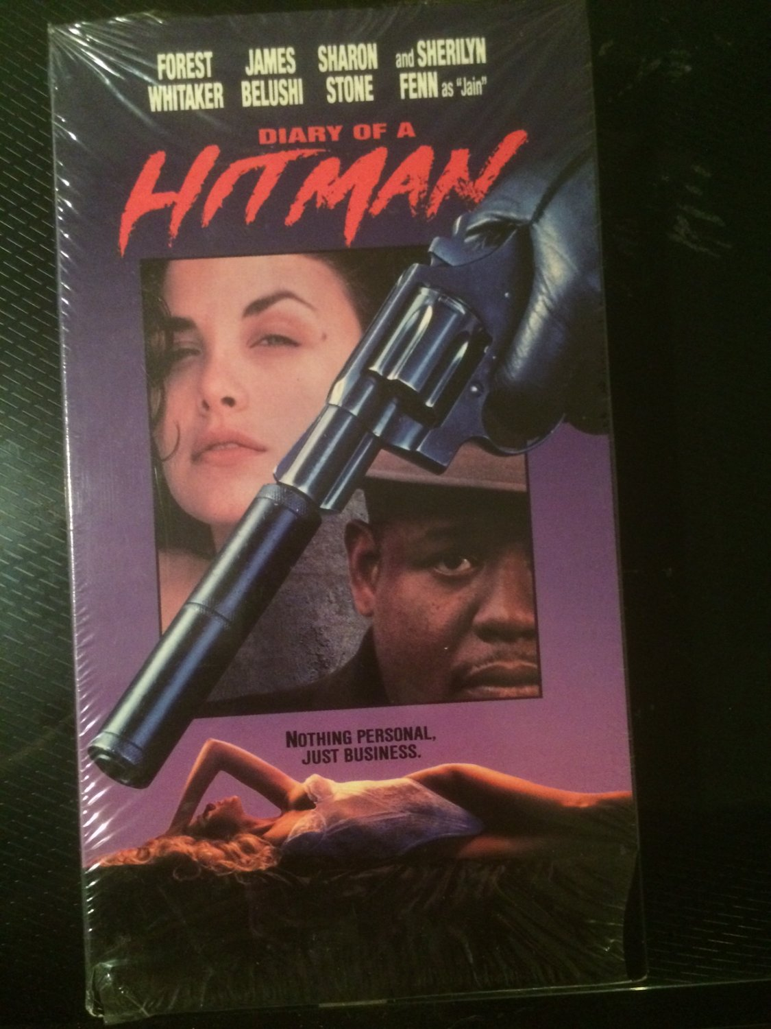Diary of a Hitman (Forest Whitaker) - VHS - Used - OOP ON DVD