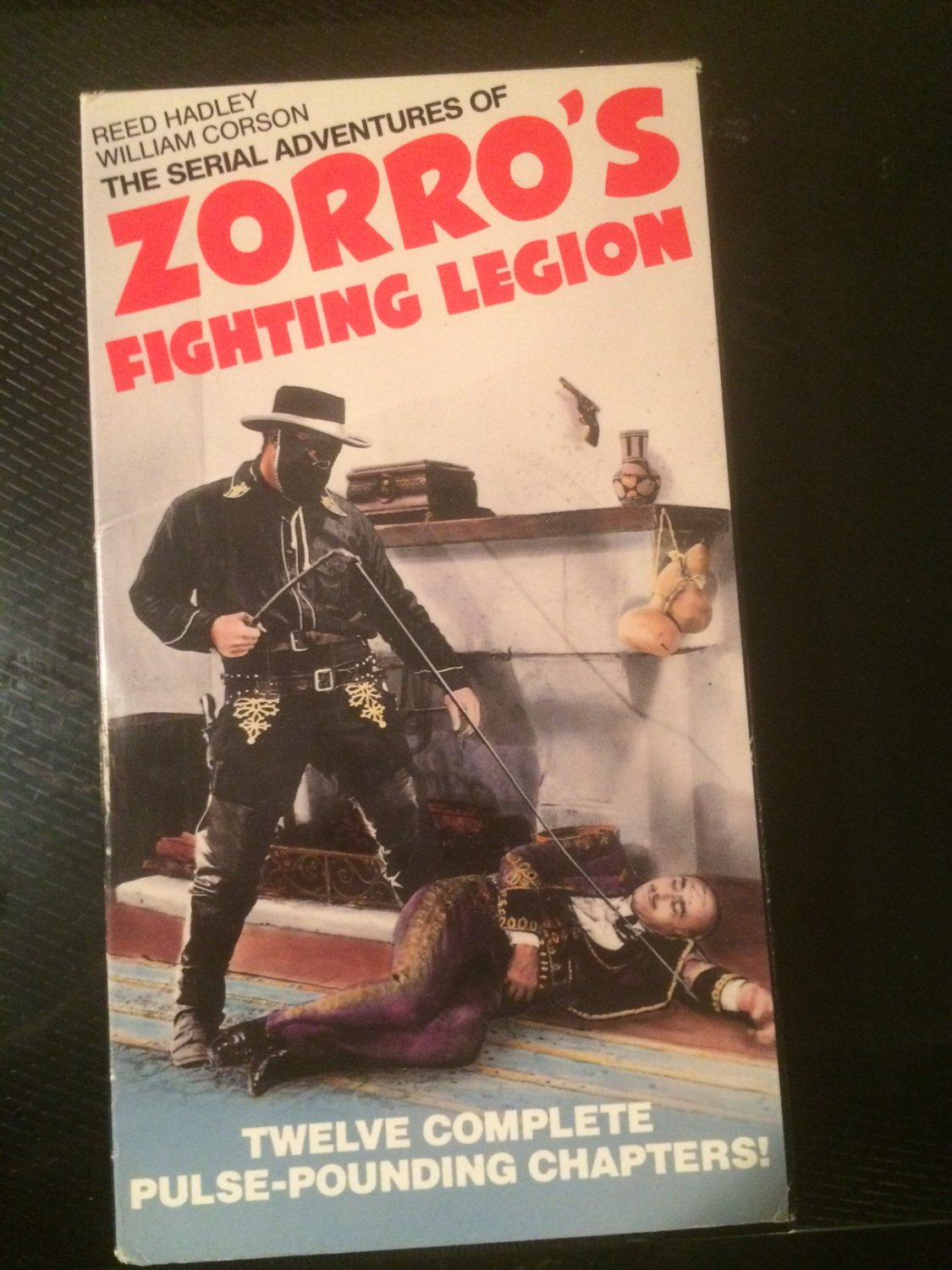 The Serial Adventures of Zorro's Fighting Legion - VHS - Used