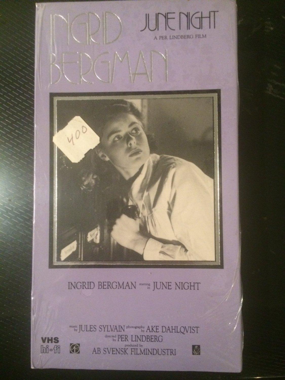 June Night (Ingrid Bergman) - VHS - BRAND NEW