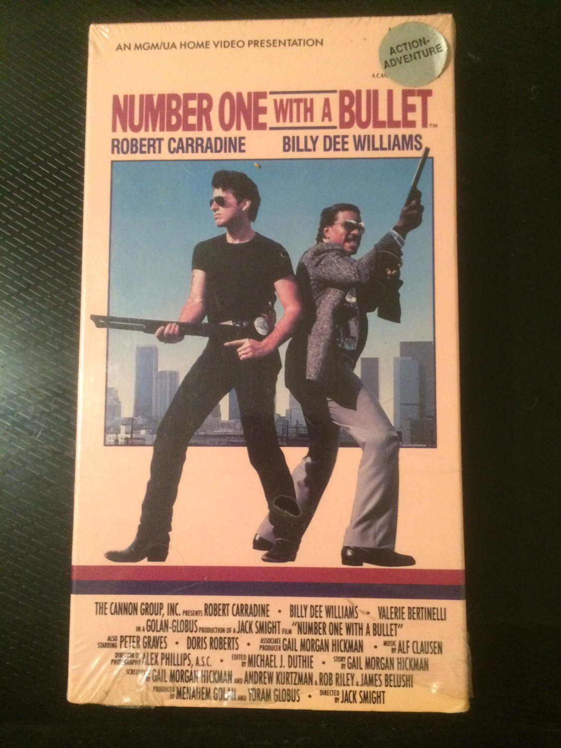VHS - Number One with a Bullet - Used
