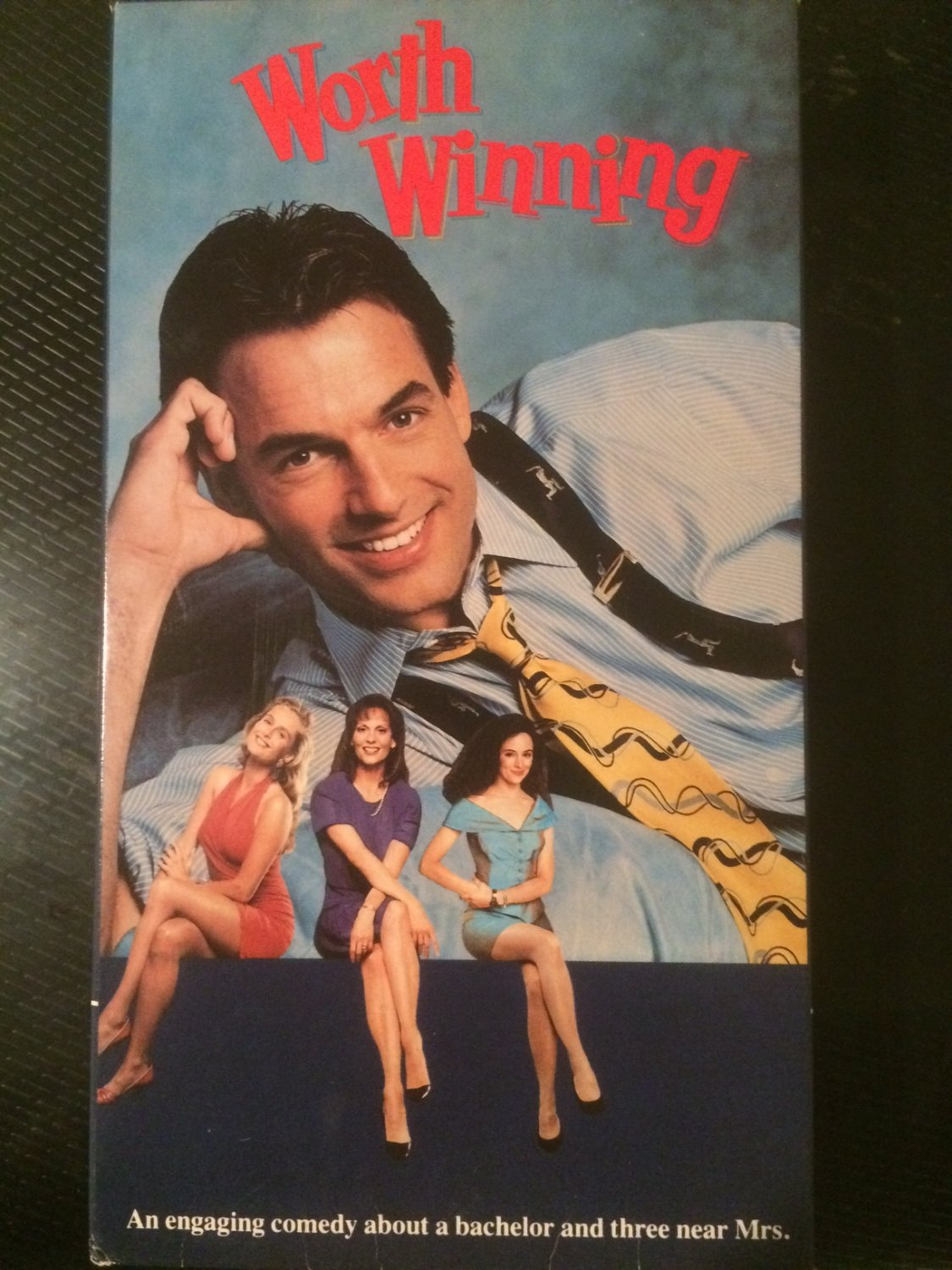 VHS - Worth Winning - Used - OOP ON DVD