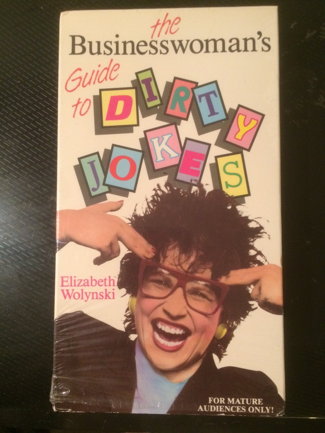 VHS - The Businesswoman's Guide to Dirty Jokes - Used - NOT ON DVD - ULTRA-RARE!