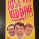 "VHS - The Best of ""Just Kidding"" Vol. 1 & 2 (2 Tapes) - Used - NOT ON DVD"