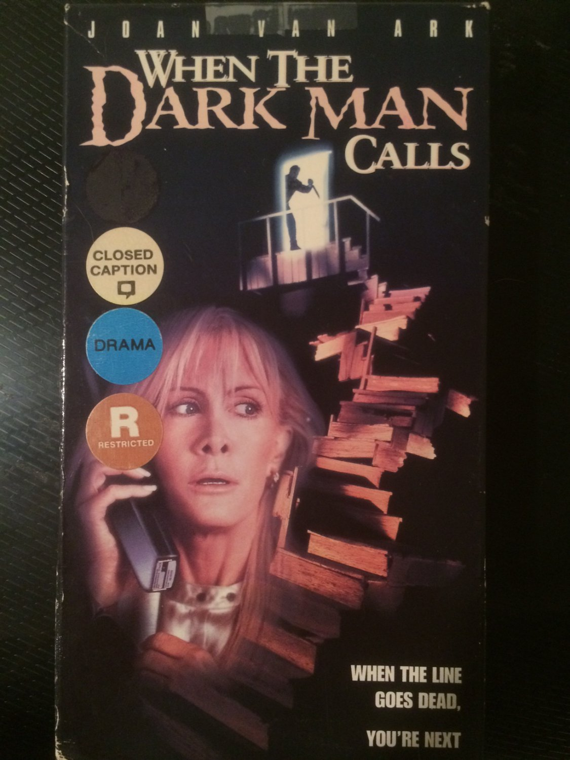 VHS - When the Dark Man Calls - Used - NOT ON DVD
