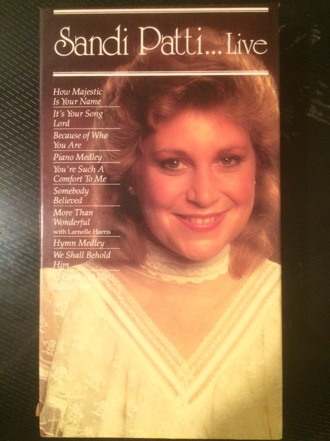 VHS - Sandi Patti...Live - Used - NOT ON DVD