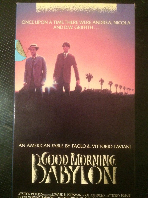 VHS - Good Morning, Babylon - Used - NOT ON DVD