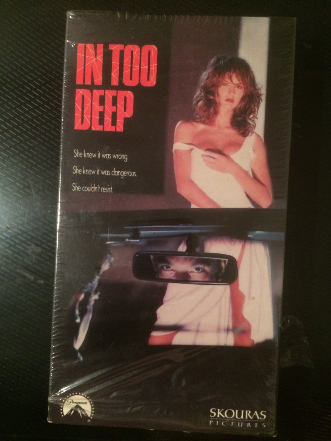 VHS - In Too Deep (Hugo Race) - Used - NOT ON DVD