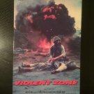 VHS - Violent Zone - Used - OOP ON DVD