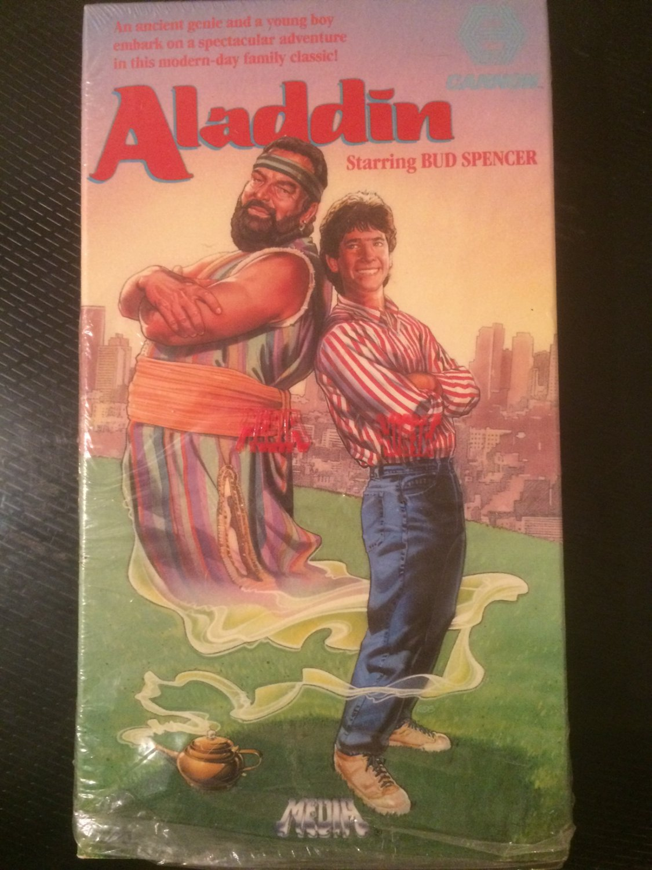 VHS - Aladdin (Bud Spencer) - Used - NOT ON DVD