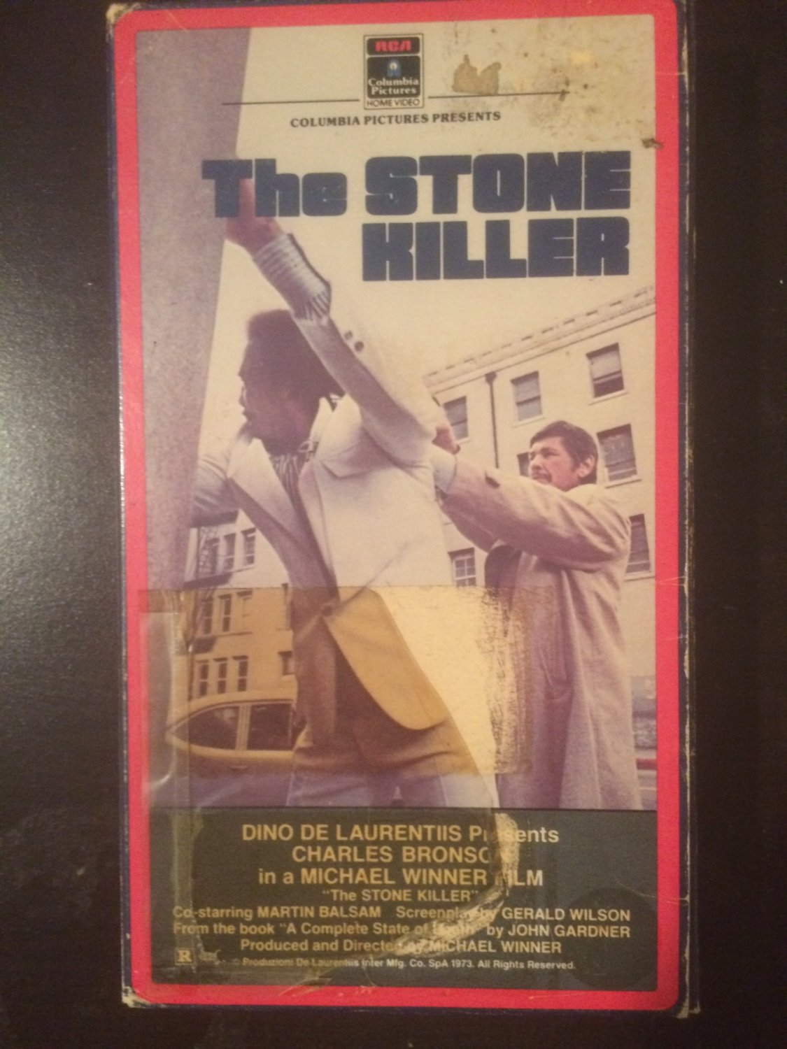 VHS - The Stone Killer (Charles Bronson) - Used