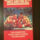 VHS - Tyson vs Spinks: Once and For All - Used - NOT ON DVD