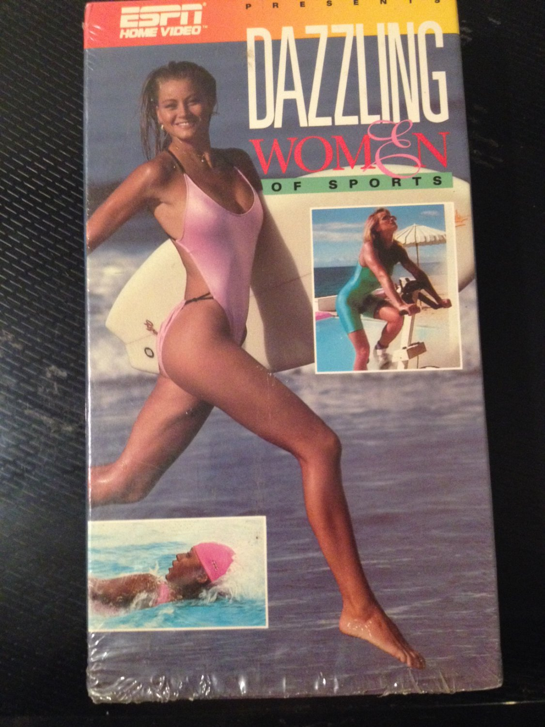 VHS - Dazzling Women of Sports - Used - NOT ON DVD