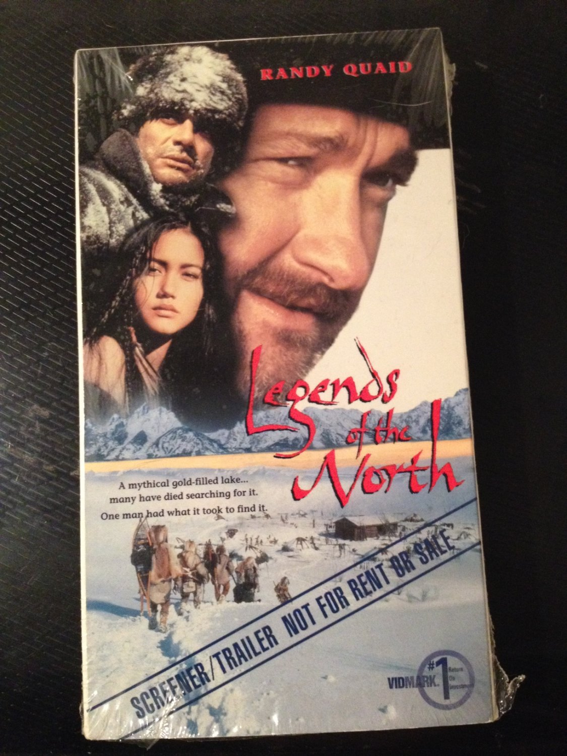 VHS - Legends of the North (Screener) - Used - NOT ON DVD - RARE!