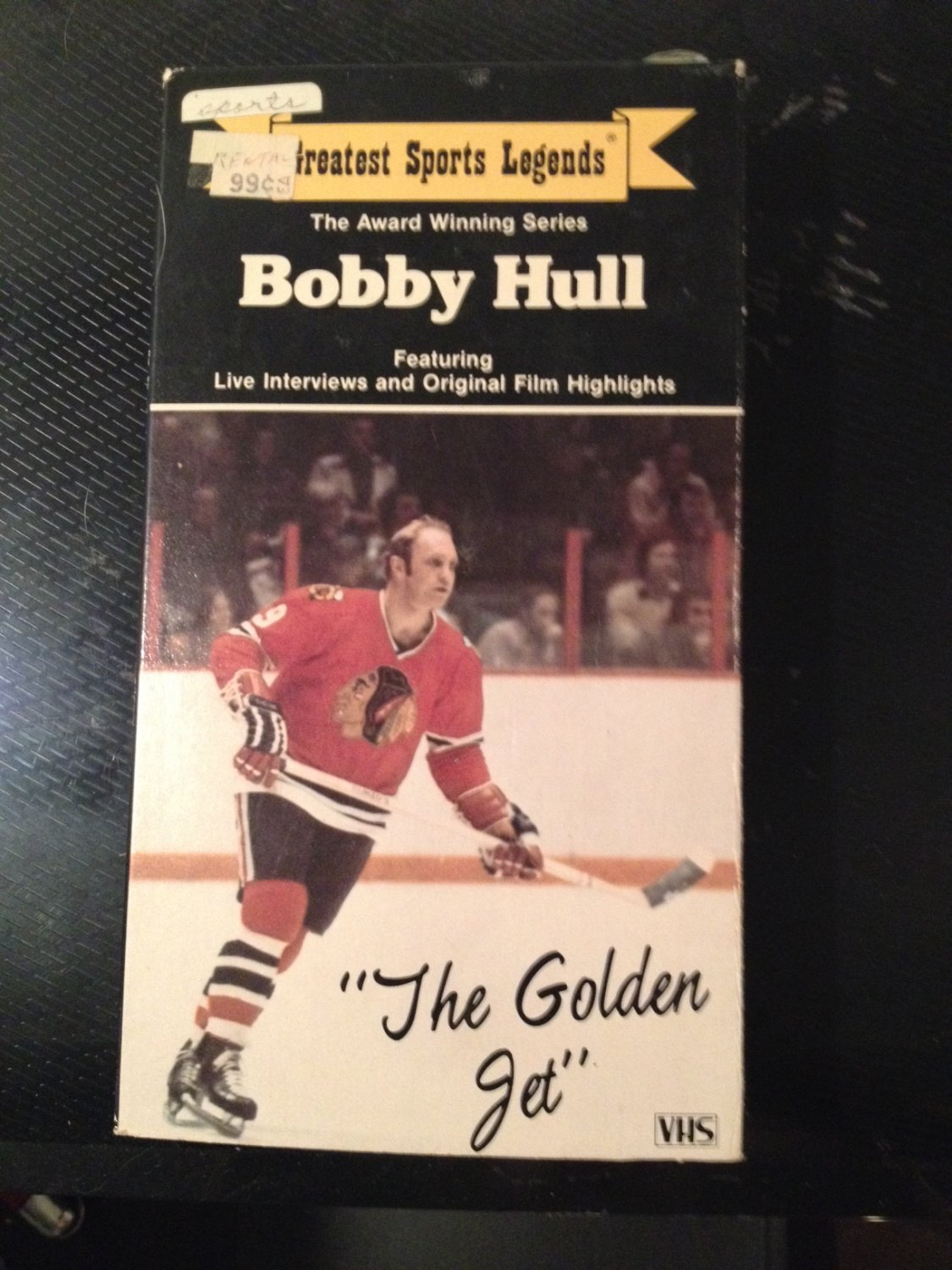 VHS - Greatest Sports Legends: Bobby Hull - Used - NOT ON DVD