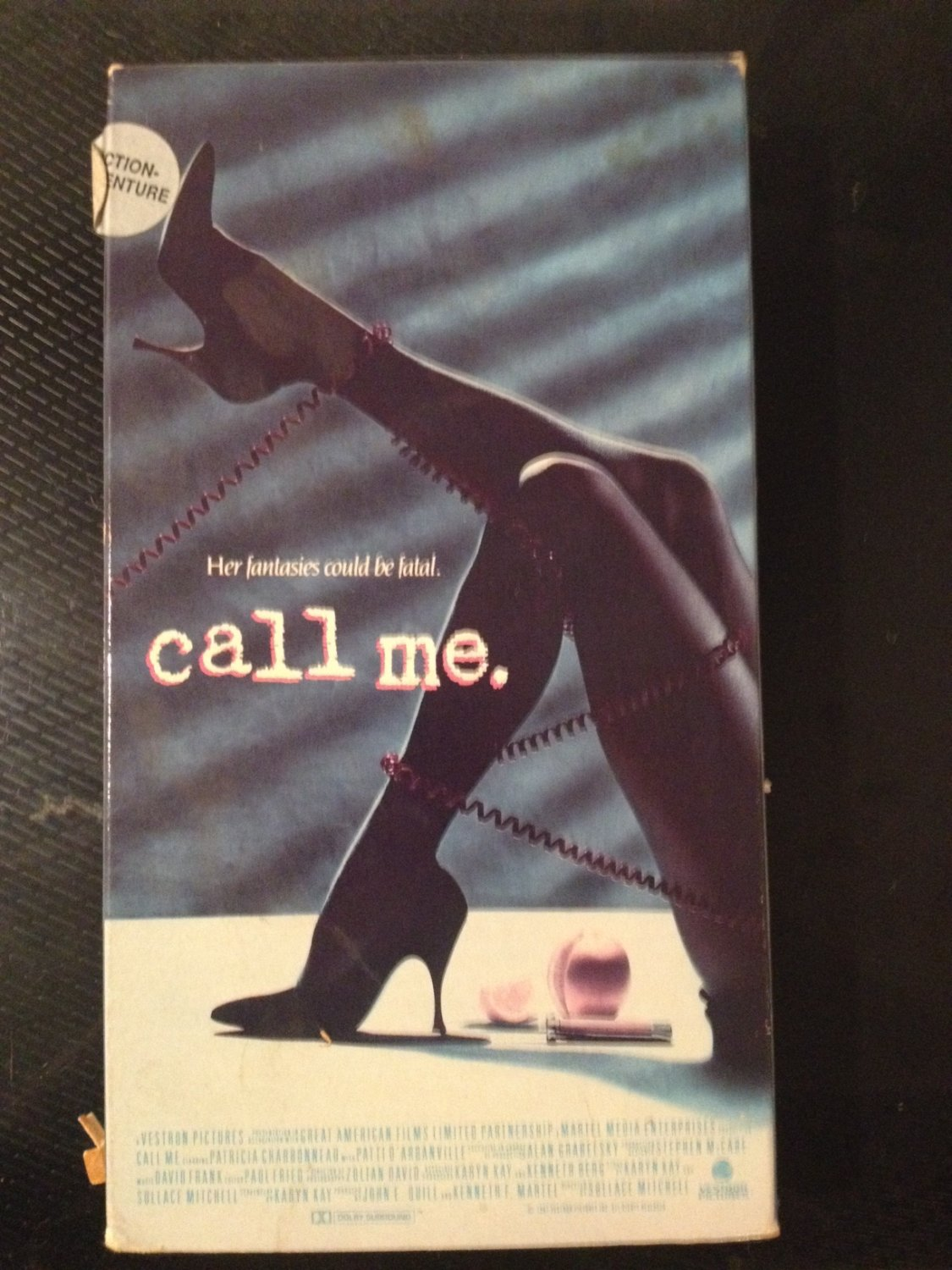 VHS - Call Me. - Used - NOT ON DVD