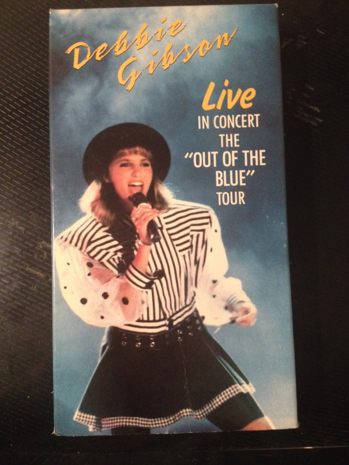"""VHS - Debbie Gibson: Live in Concert (""""Out of the Blue"""" Tour) - Used - NOT ON DVD"""