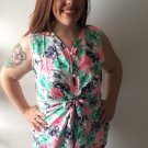 "Clothing - Multi-Color Floral Print ""Watercolor Sketches"" Dress - Small (PRICE DROP!)"