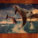 Home - Tropical Dolphins Memory Foam Floor Mat - NEW