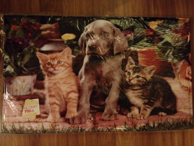 Cute Pets Memory Foam Floor Mat - NEW