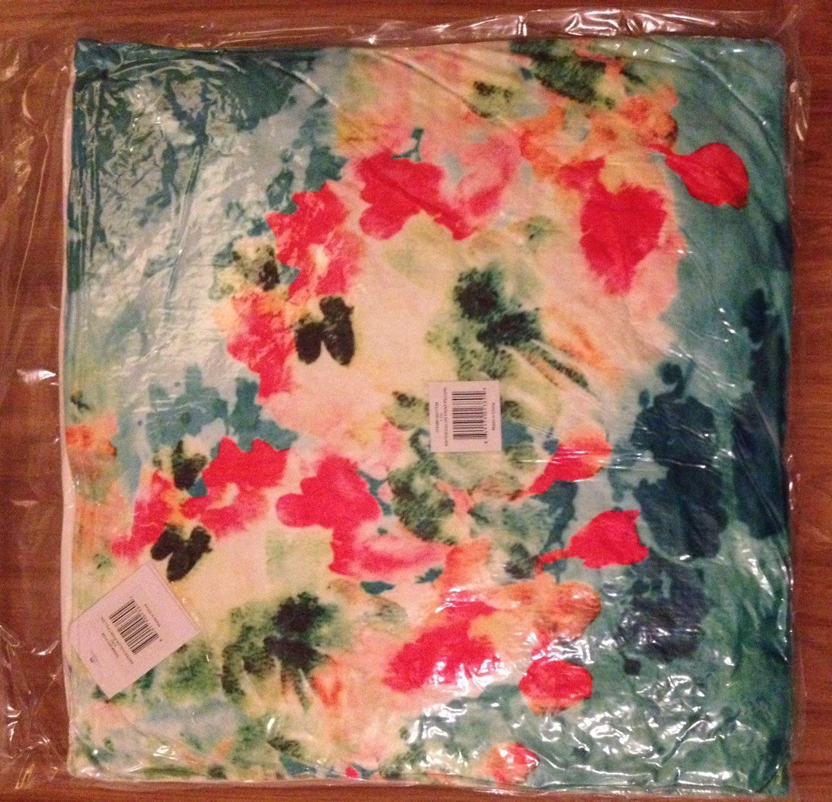 Watercolor Floral Throw Pillow - NEW