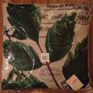 Home - Postcard Botanical Leaves Decorative Pillow - NEW (PRICE DROP!)