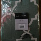 "NEW Madison Park 50""x18"" Seafoam Window Valance"