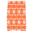 NEW E by Design Orange/White Hand Towel - 2-Pack!