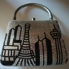 "NEW Luster by Loveleen ""New York"" Rhinestone Evening Bag"