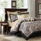 Madison Park Wellington (Aubrey) 12-Pc Comforter Set - Queen
