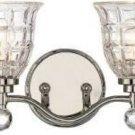INCOMPLETE Savoy House Birone (Eduardo) 4-Light Vanity Light, Polished Nickel