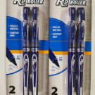 Inc. R-2 Roller Roller Ball Pens 2-Pack - Blue Ink