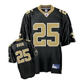 FREE SHIPPING Reggie Bush #25 Reebok Youth Jersey Medium M New Orleans Saints