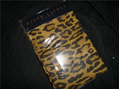 Ralph Lauren Aragon Standard Pillowcases Pillowcase Pair Animal Print