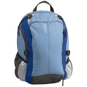 Blue JanSport Backpack DayPack Ball Pack Sport Soccer