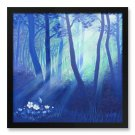 "Framed Print 12x12"" of Painting 'Secret Forest'"