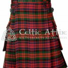 Clan MacDonald - Scottish TARTAN UTILITY Modern KILT for Men - 16 Oz Acrylic 34 Size