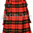 Clan Wallace Kilt - Scottish TARTAN UTILITY Modern KILT for Men - 13 Oz Acrylic size 40